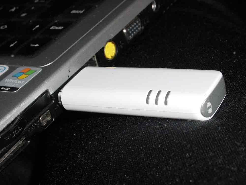 Mobiles Internet mit einem Internet Stick