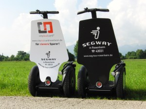 Ein Segway eigent sich hervorragend für Marketing-Aktionen