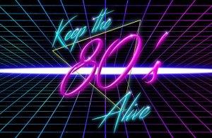Die 80er jahre sind heute noch Kult