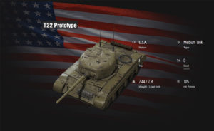 World of Tanks T22 Prototype