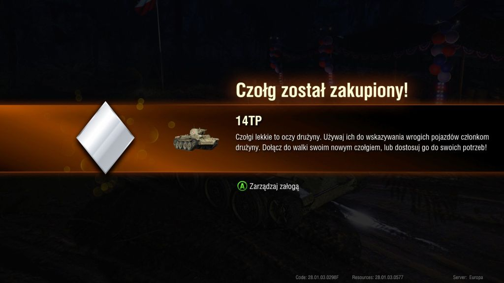 14TP World of Tanks Xbox One
