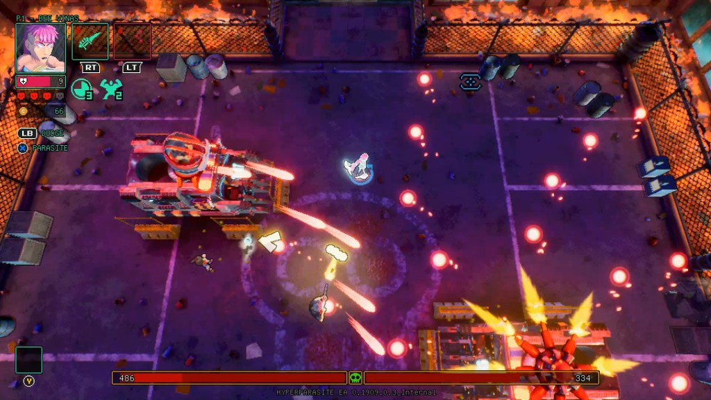 HyperParasite, Xbox One, recenzja, review