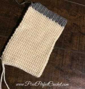 Crochet Stocking failed start