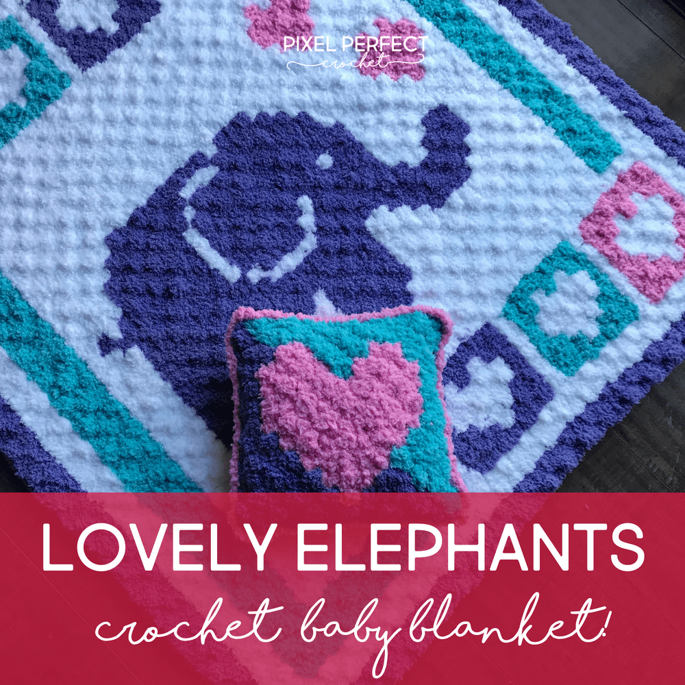 Ellie The Elephant Crochet Baby Booties | AllFreeCrochet.com | 1000x1000