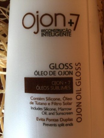 Gloss Ojon +7 Óleos Sublimes Minasflor