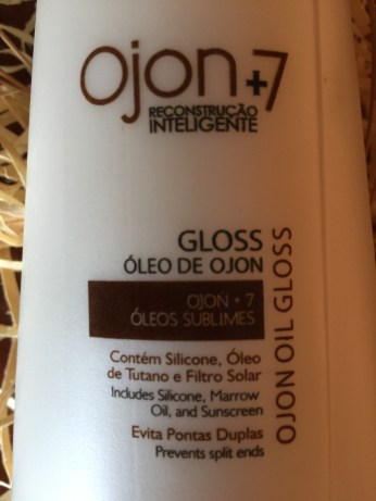 Gloss Ojon +7 Óleos Sublimes Minasflor