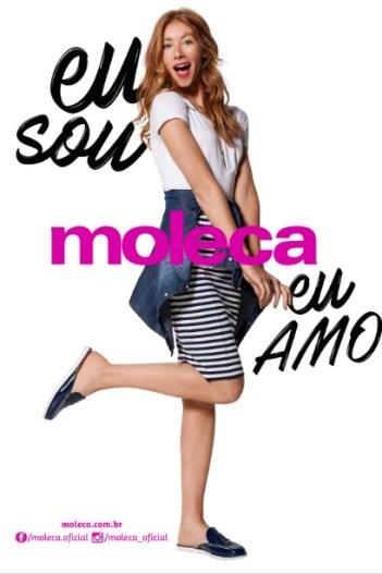 Moleca lança coleção moderna para 2017