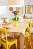 Decorando com cadeiras coloridas | Casa & Cia