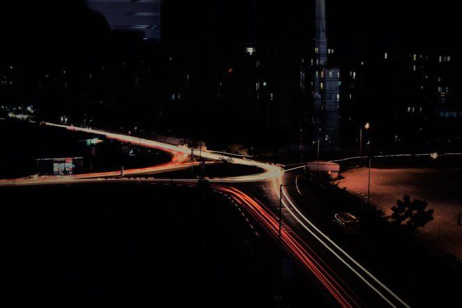 light trail, pixelrajeev