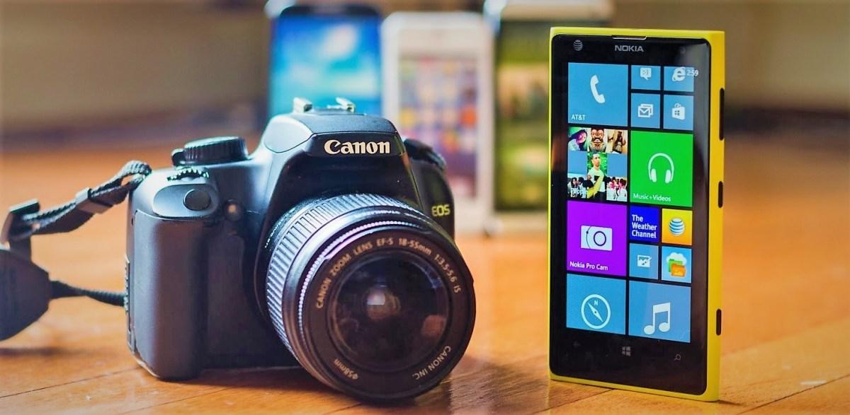 Smartphone Cameras Vs DSLRs Camera