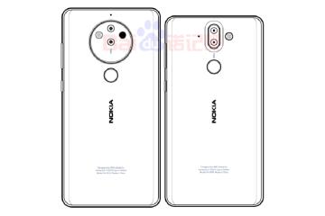 Nokia 8 Penta lens