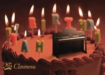 The Yamaha Clavinova is celebrating its birthday: 1983 to 2013!