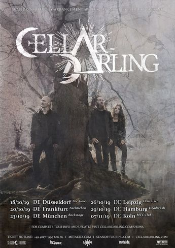 CELLAR DARLING kündigen 6 Headliner-Shows in Deutschland an