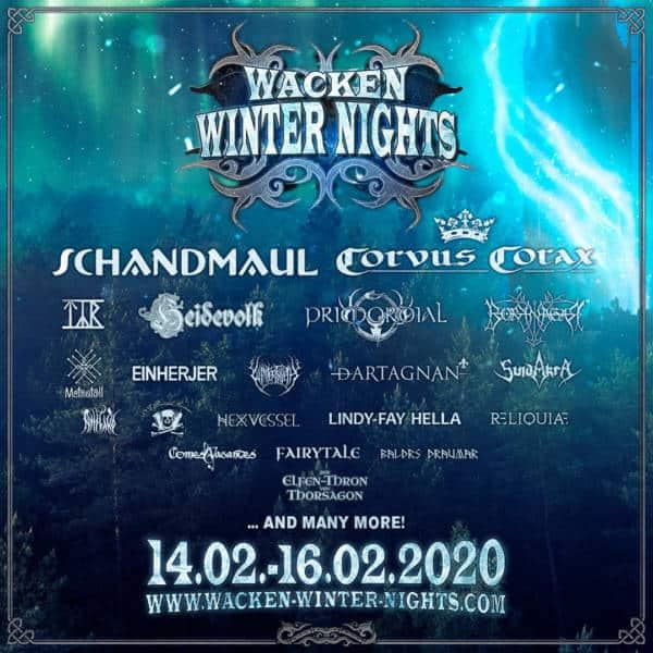 WACKEN WINTER NIGHTS IV – sechs neue Bands für 2020 angekündigt