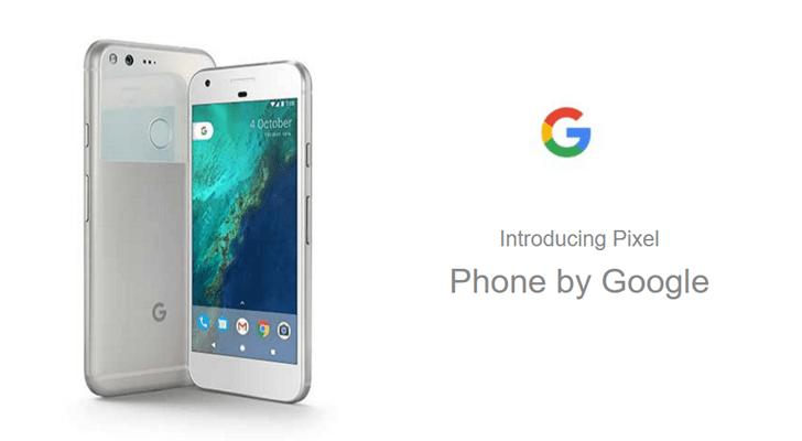 Pixel phone listing appear on Carphone