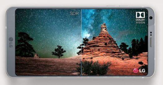 LG G6's display