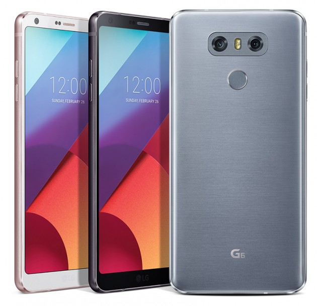 the brand new LG G6