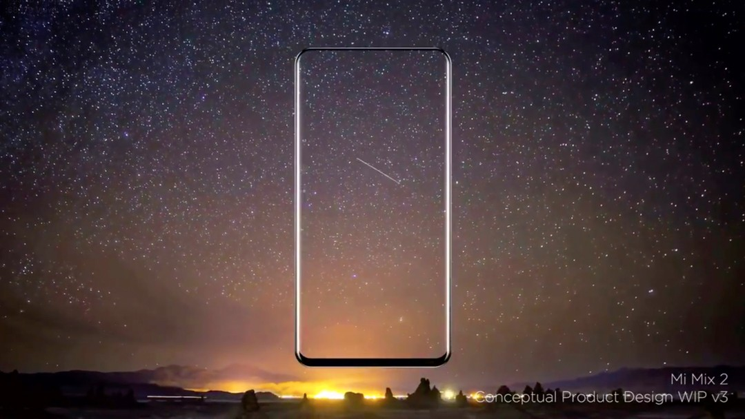 Xiaomi Mi MIX 2 will have even thinner bezels in concept video