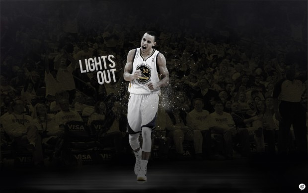 Stephen Curry Lights Out Wallpaper by 31ANDONLY.