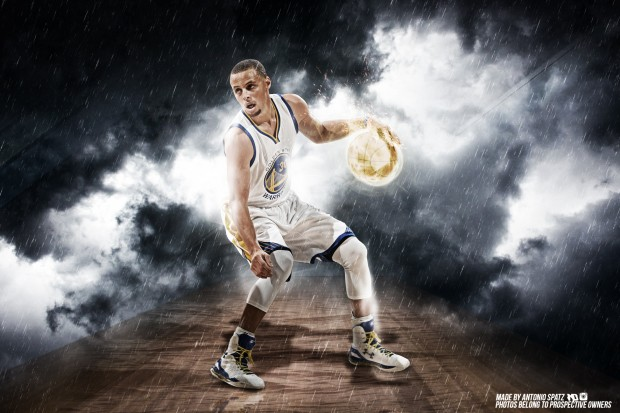 Stephen Curry Wallpaper by mulasdesigns by deviantart com.