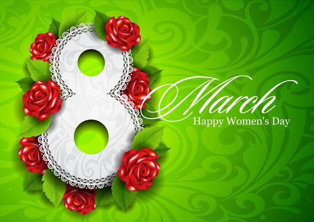 8 March Happy Womens Day wallpapers.
