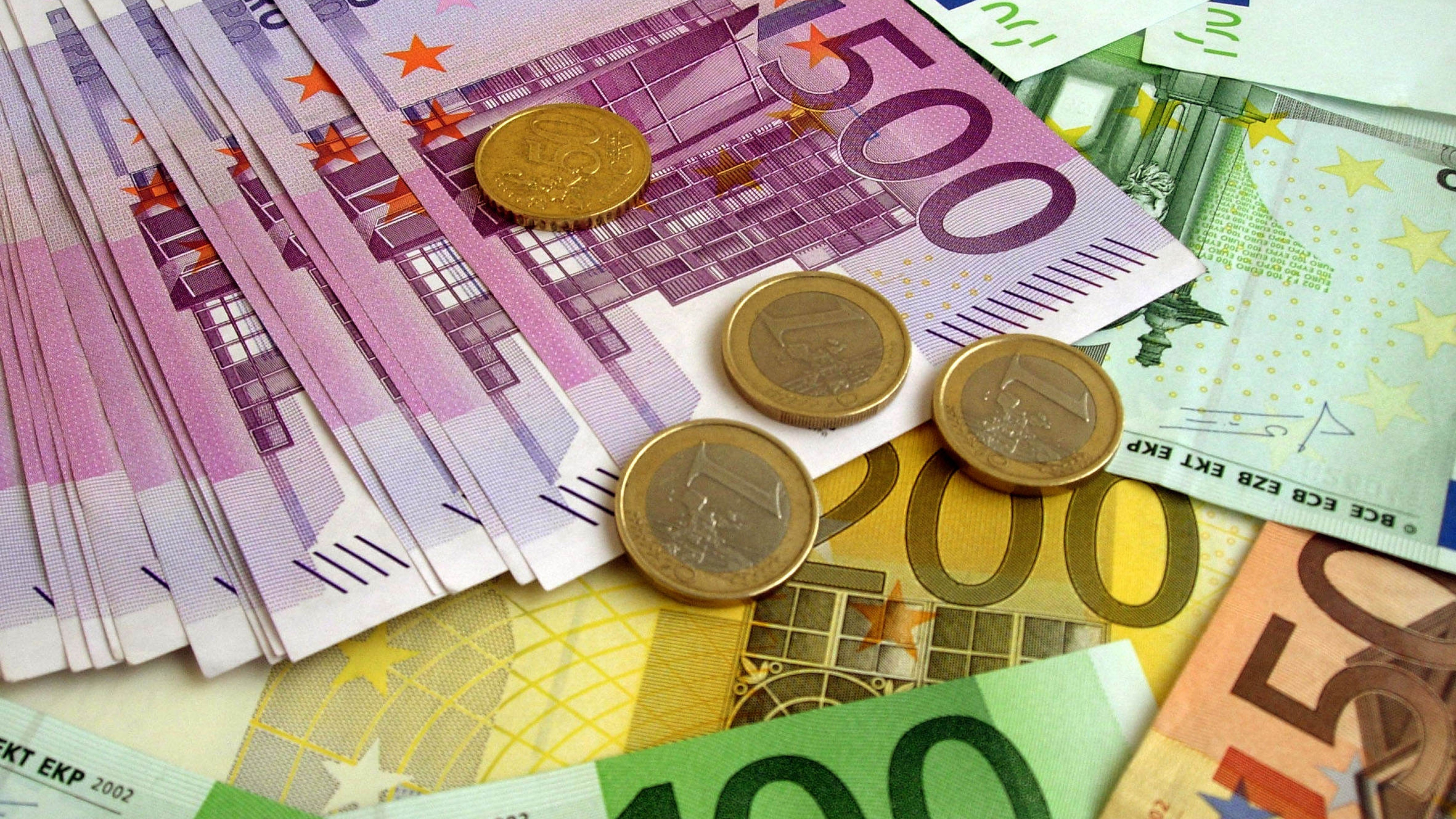 Euro Money Wallpaper
