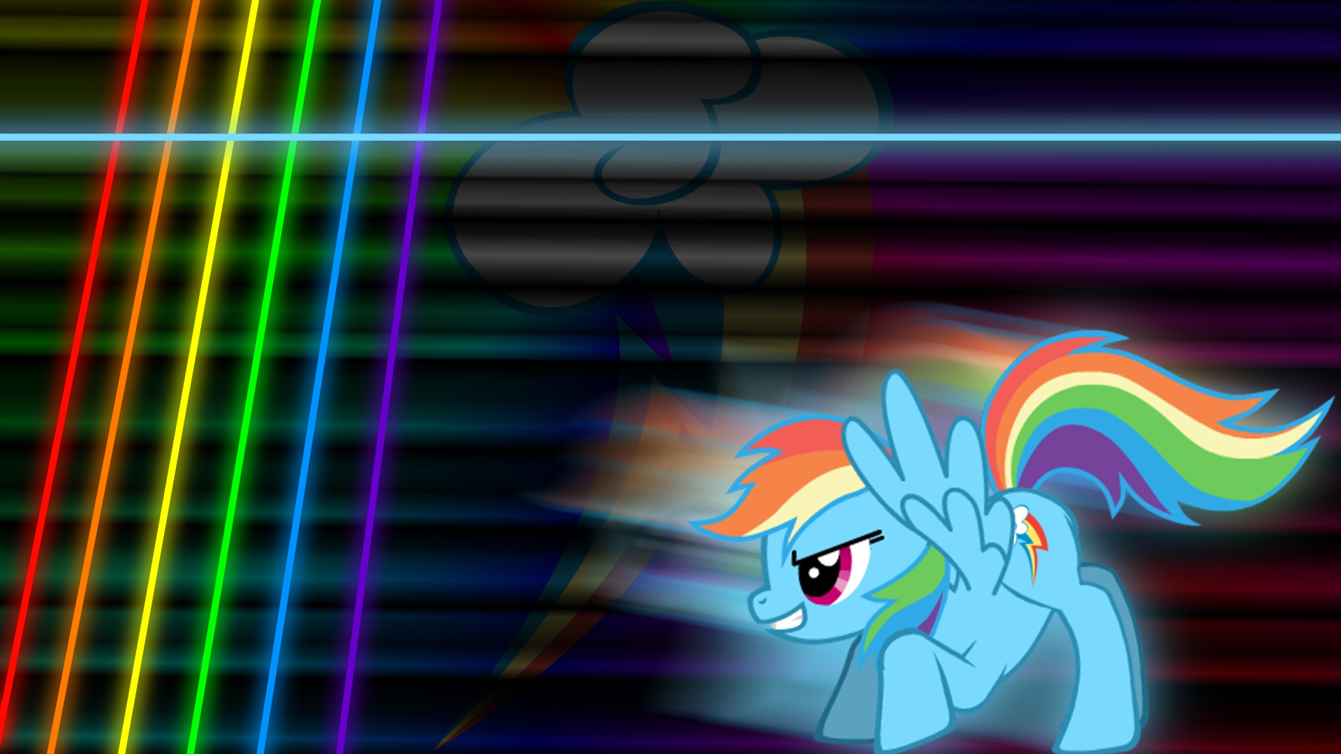 Rainbow Sparkle Wallpaper