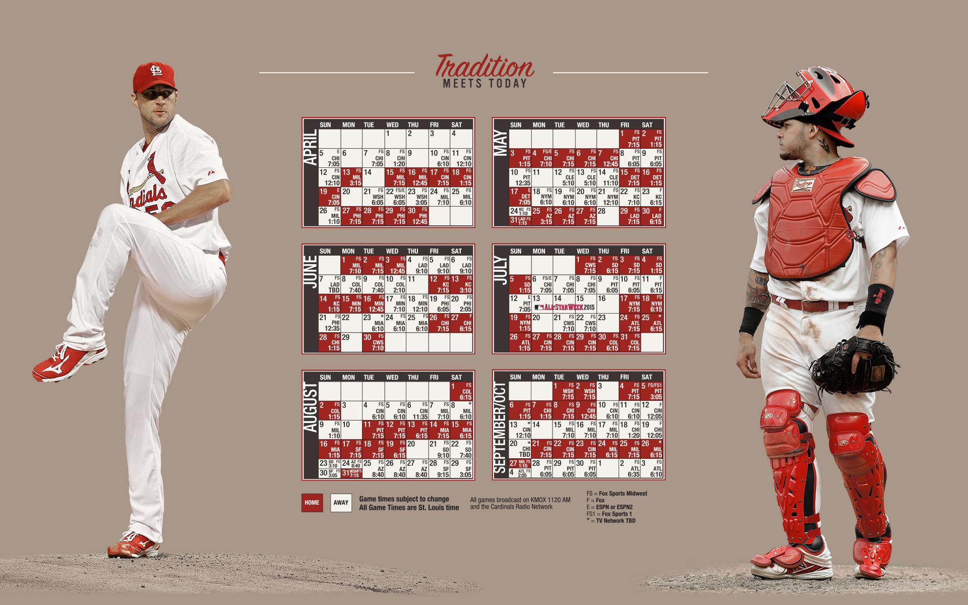 Free Desktop ST Louis Cardinals Wallpapers