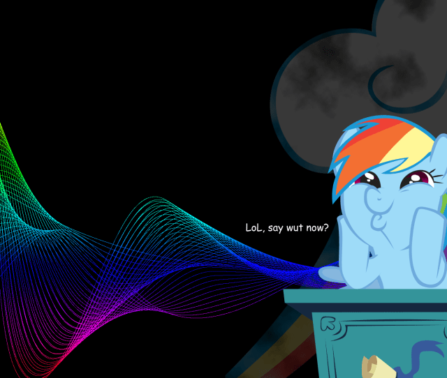 Wallpaper Desktop Rainbow Dash Hd