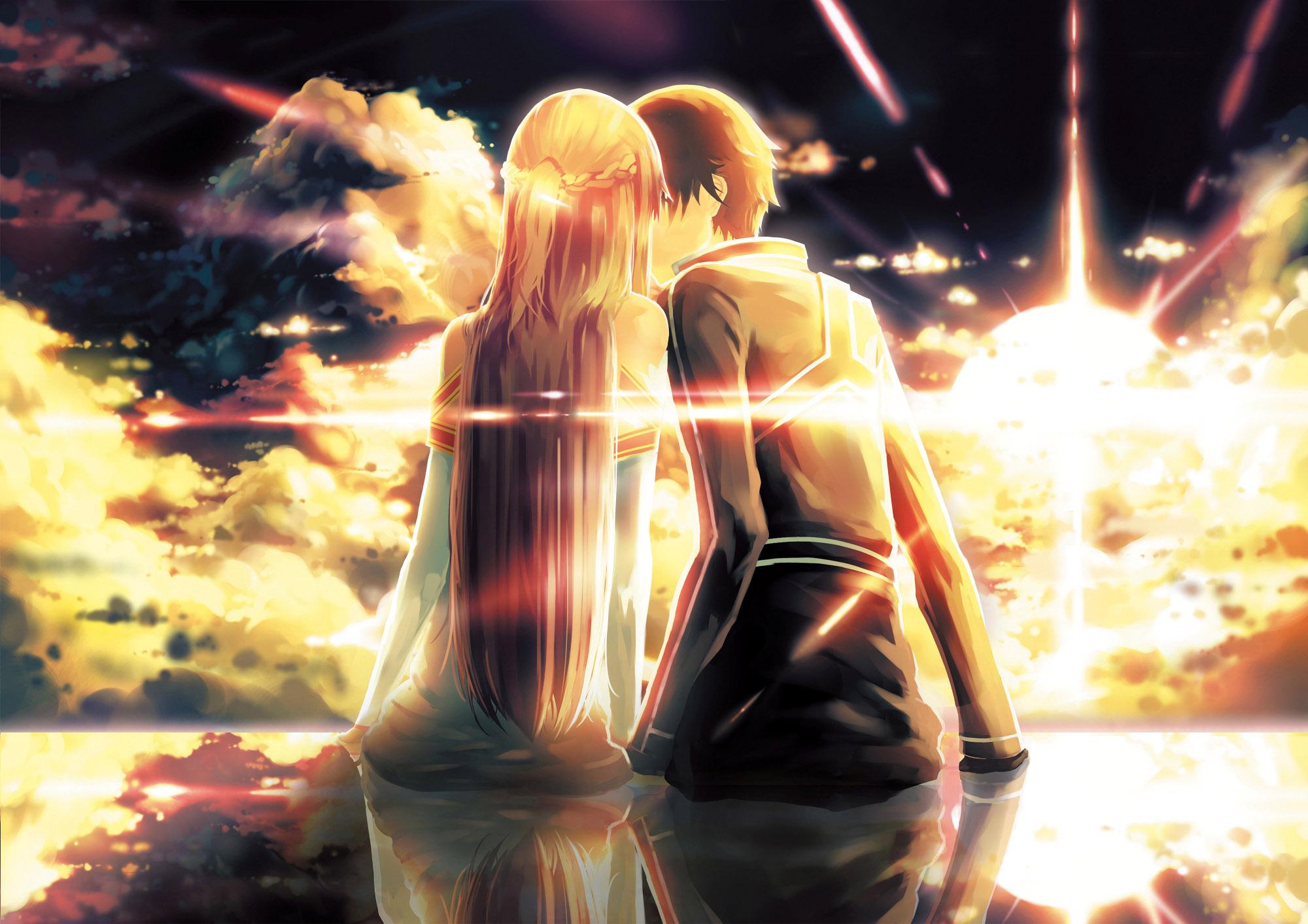 Download Free Cute Anime Couple Backgrounds Pixelstalk Net