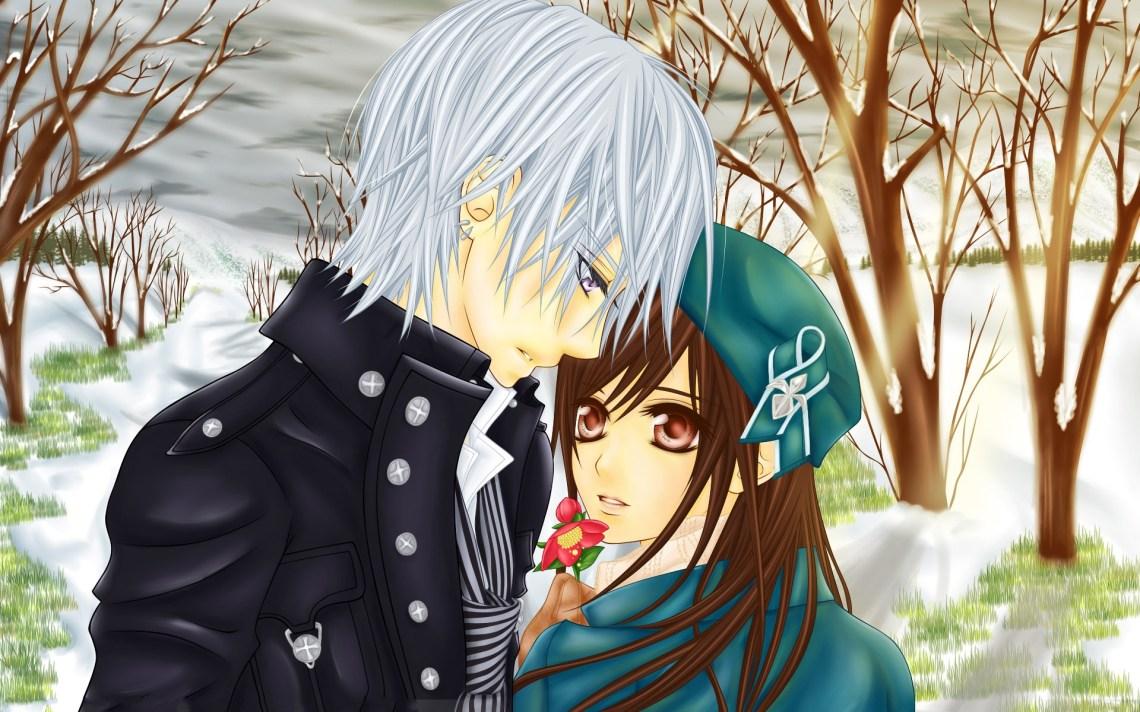 Cute Anime Couple Hd Wallpapers Pixelstalk Net