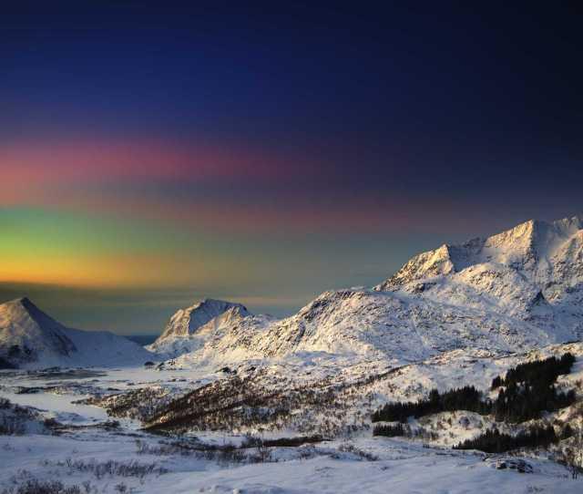 Snowy Mountains Desktop Backgrounds