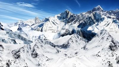 Snowy Mountains Wallpapers HD | PixelsTalk.Net