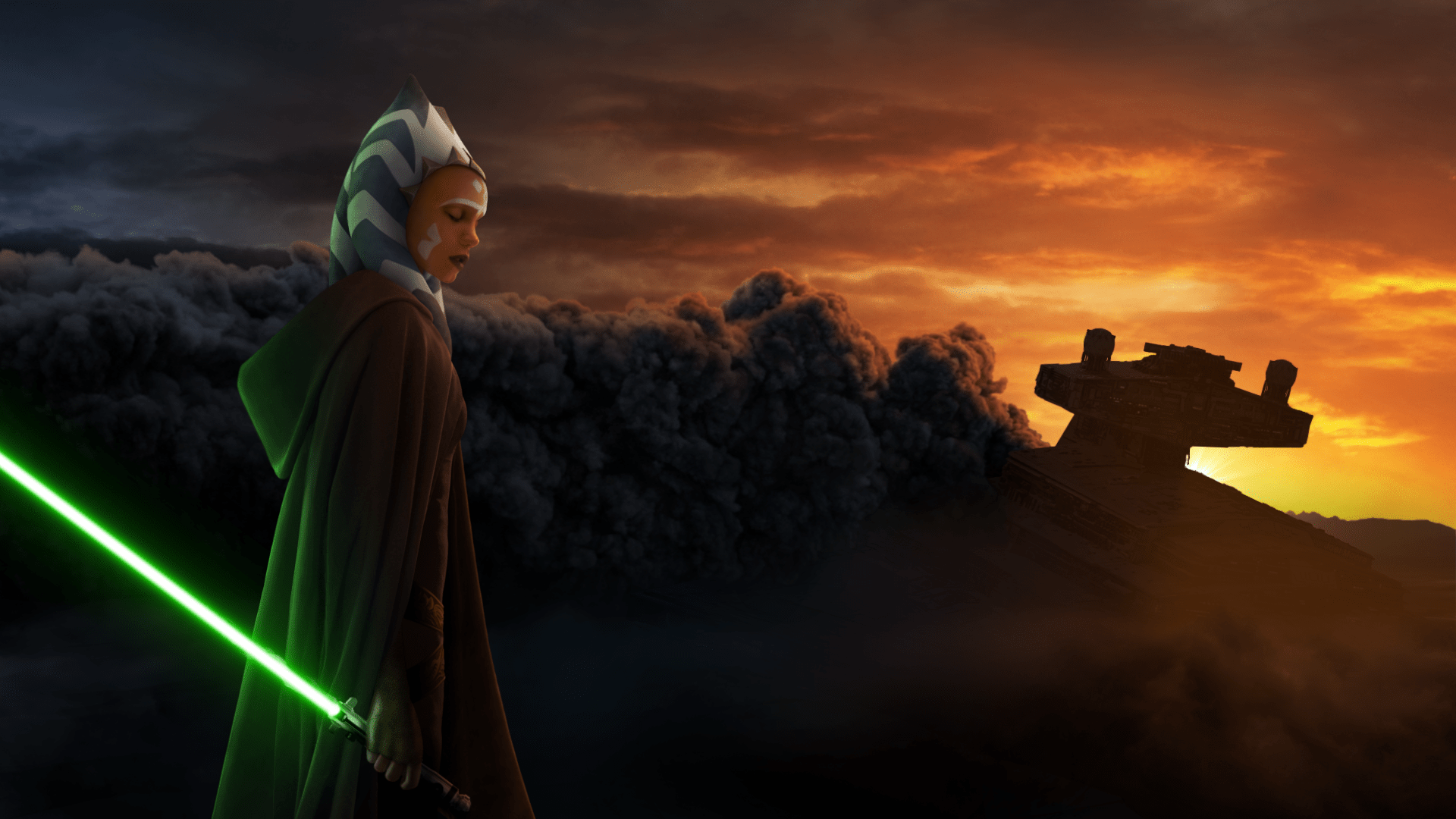 Ahsoka Tano HD Wallpaper