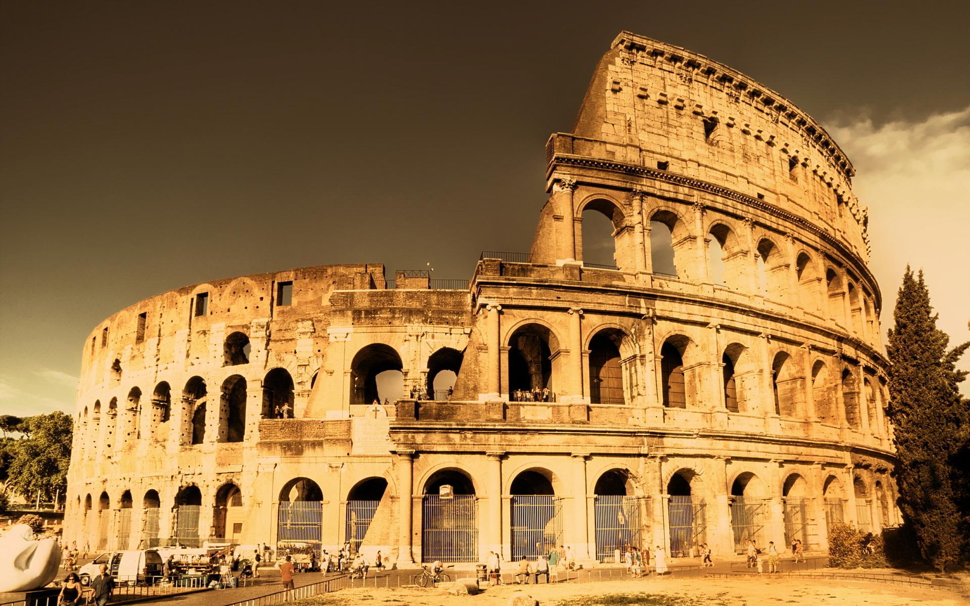 Ancient Rome Desktop Background