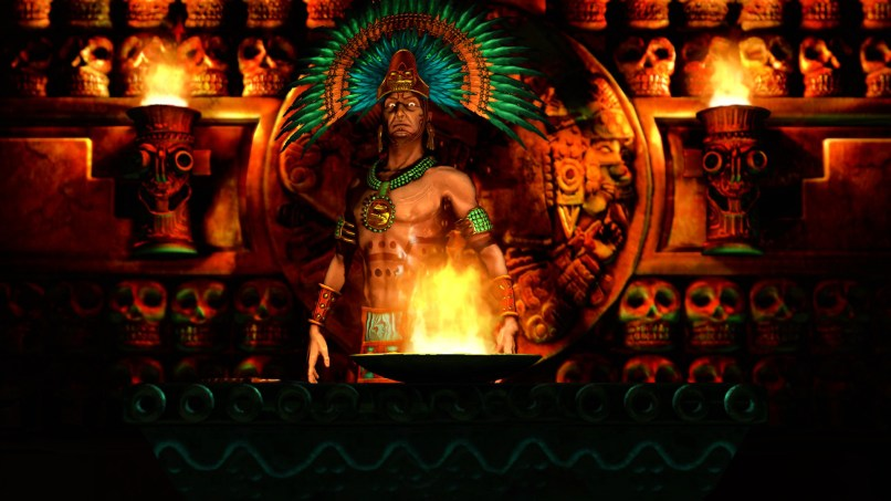 Aztec Warrior Wallpaper Hd Jidiwallpaper Com