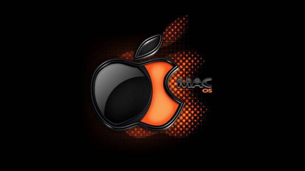 Black and Orange Background for Desktop.