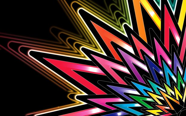 Bright colors abstract 2560x1600.