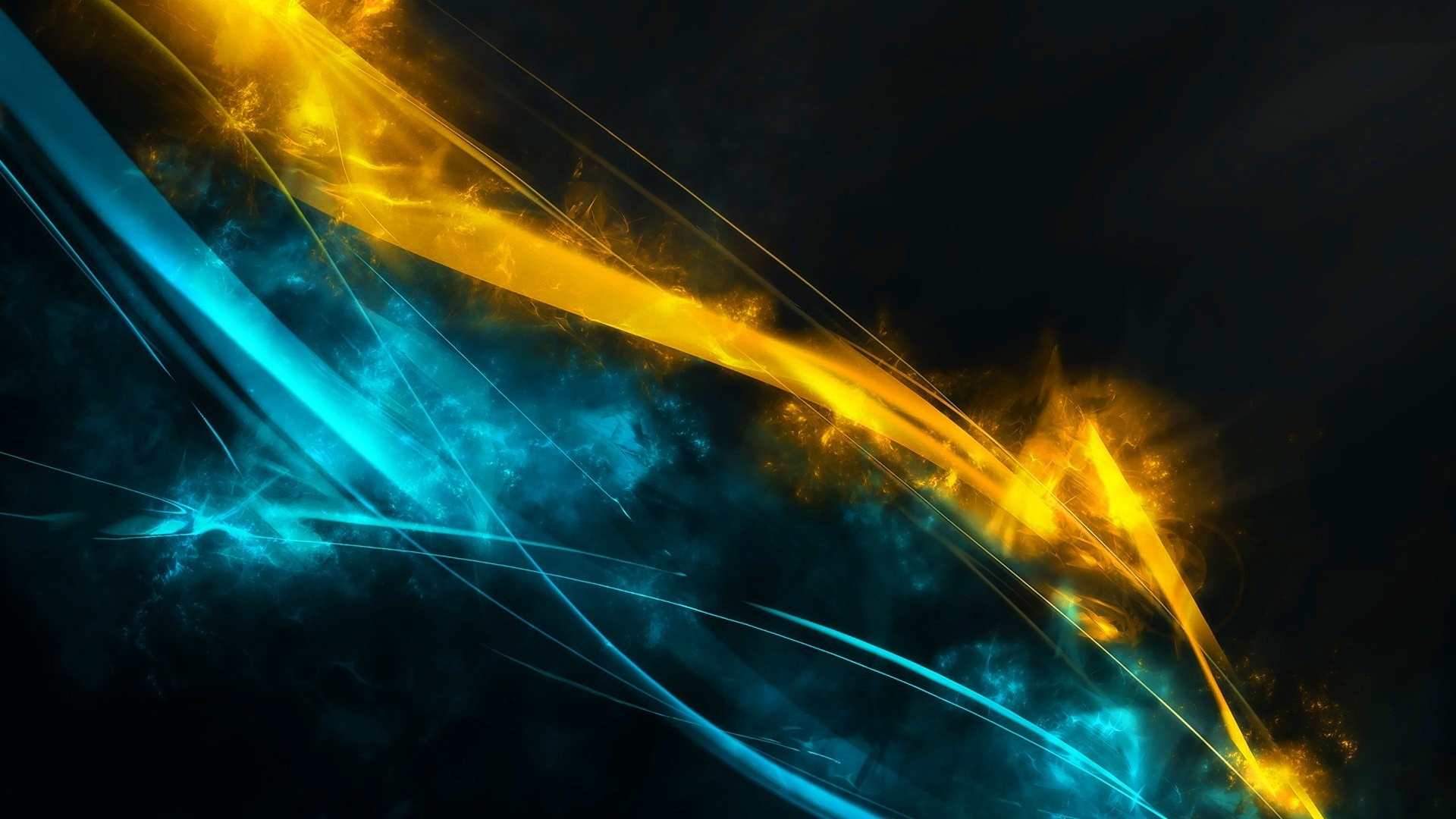 Free Download Blue And Gold Wallpaper
