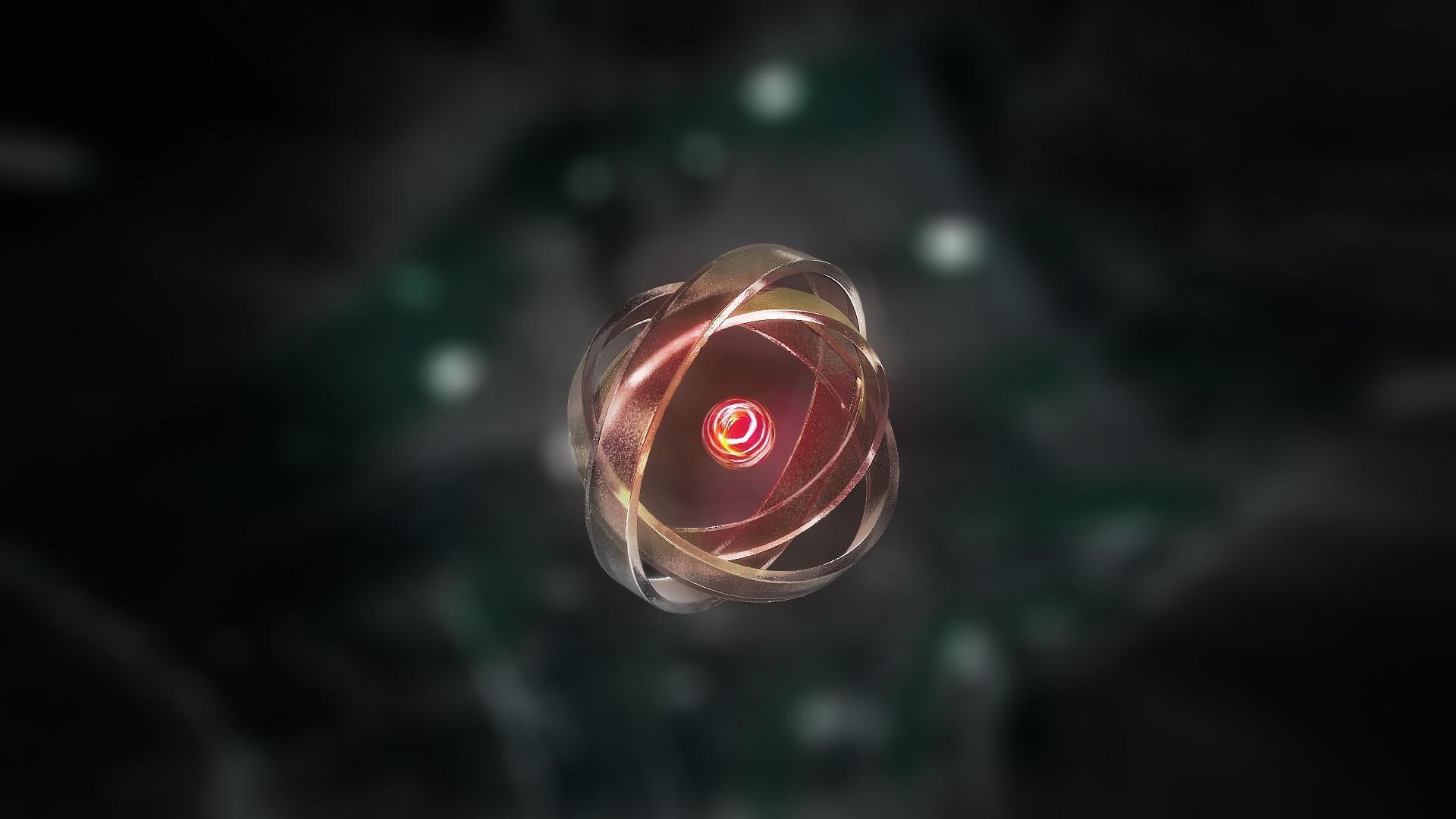 Free Download Atom Background