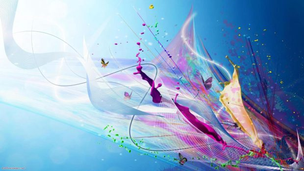 HD abstract colorful wallpapers.