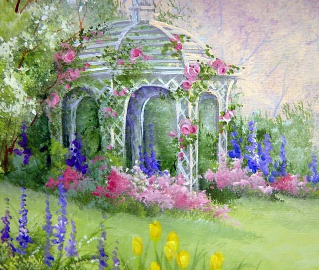Free Flower Garden Wallpaper