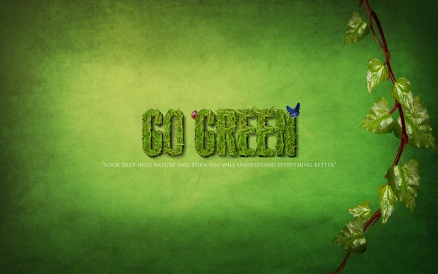Earth Day Wallpaper Backgrounds Go green 2.