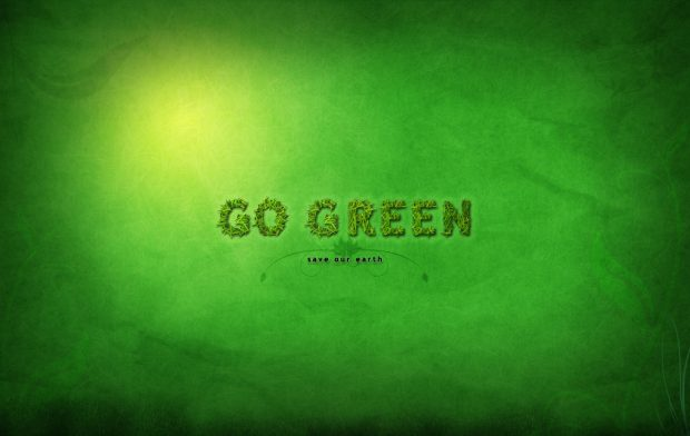 Go Green Earth Day Wallpaper Backgrounds.