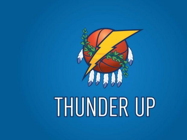 Oklahoma City Thunder Basketball Club Wallpaper 3.