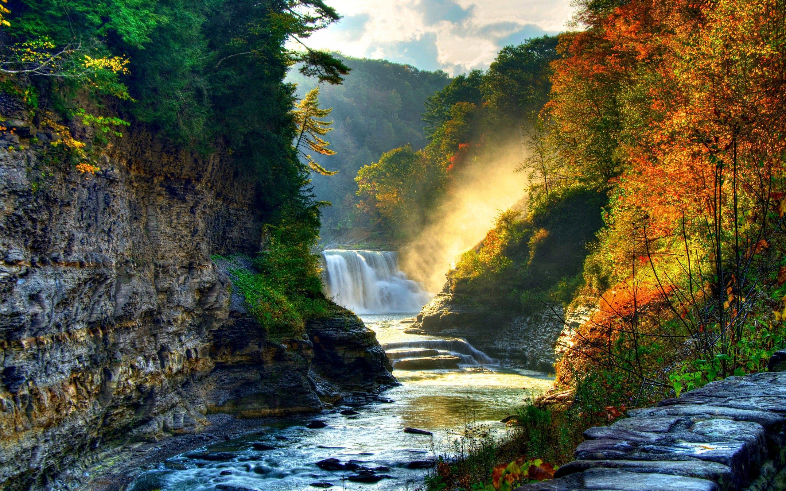 Waterfall Backgrounds Free