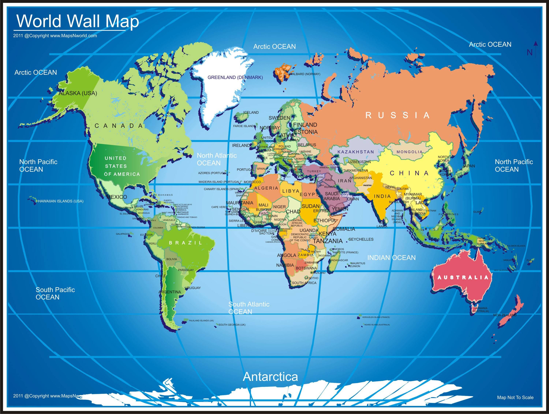 World Map Wallpaper Hd