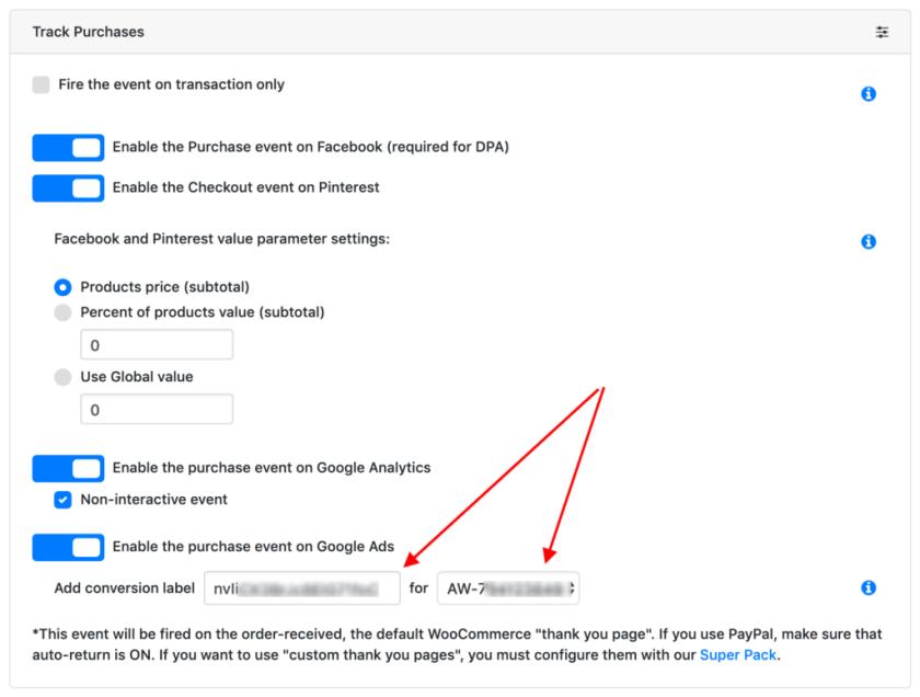 Track Google Ads Conversion on WooCommerce