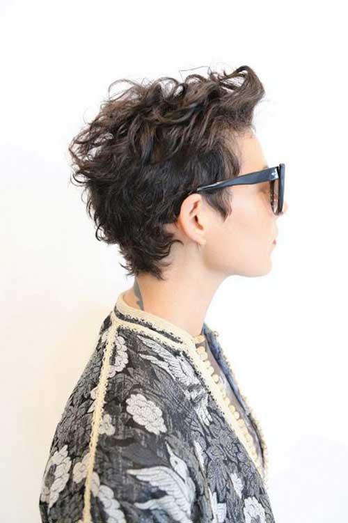 20 Pixie Cuts For Curly Hair Pixie Cut Haircut For 2019