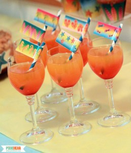 Ombre Drinks for a Summer Party by Pixiebear
